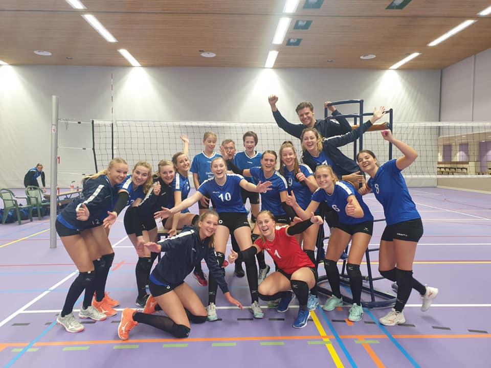 DeVoKo Dames 1 wint tweede wedstrijd op rij!