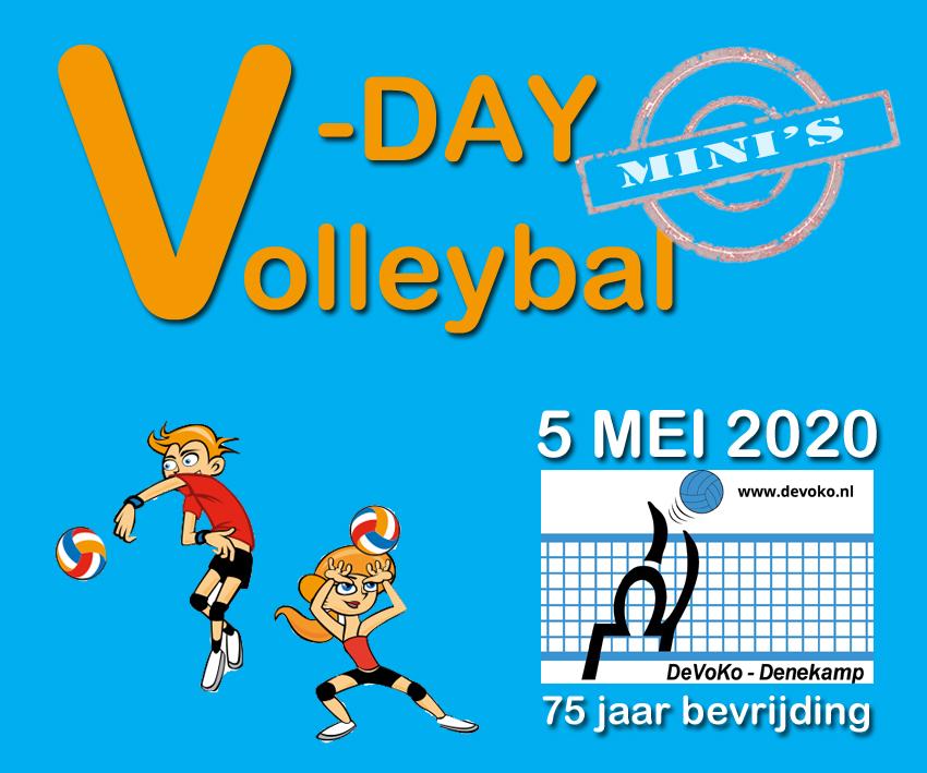 5 mei – Bevrijdingsdag – Volleybaldag