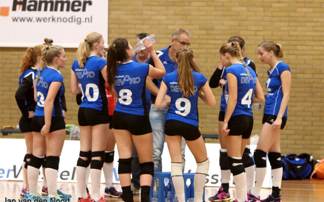 Verdiende 4-0 overwinning voor Timax/DeVoKo dames 1
