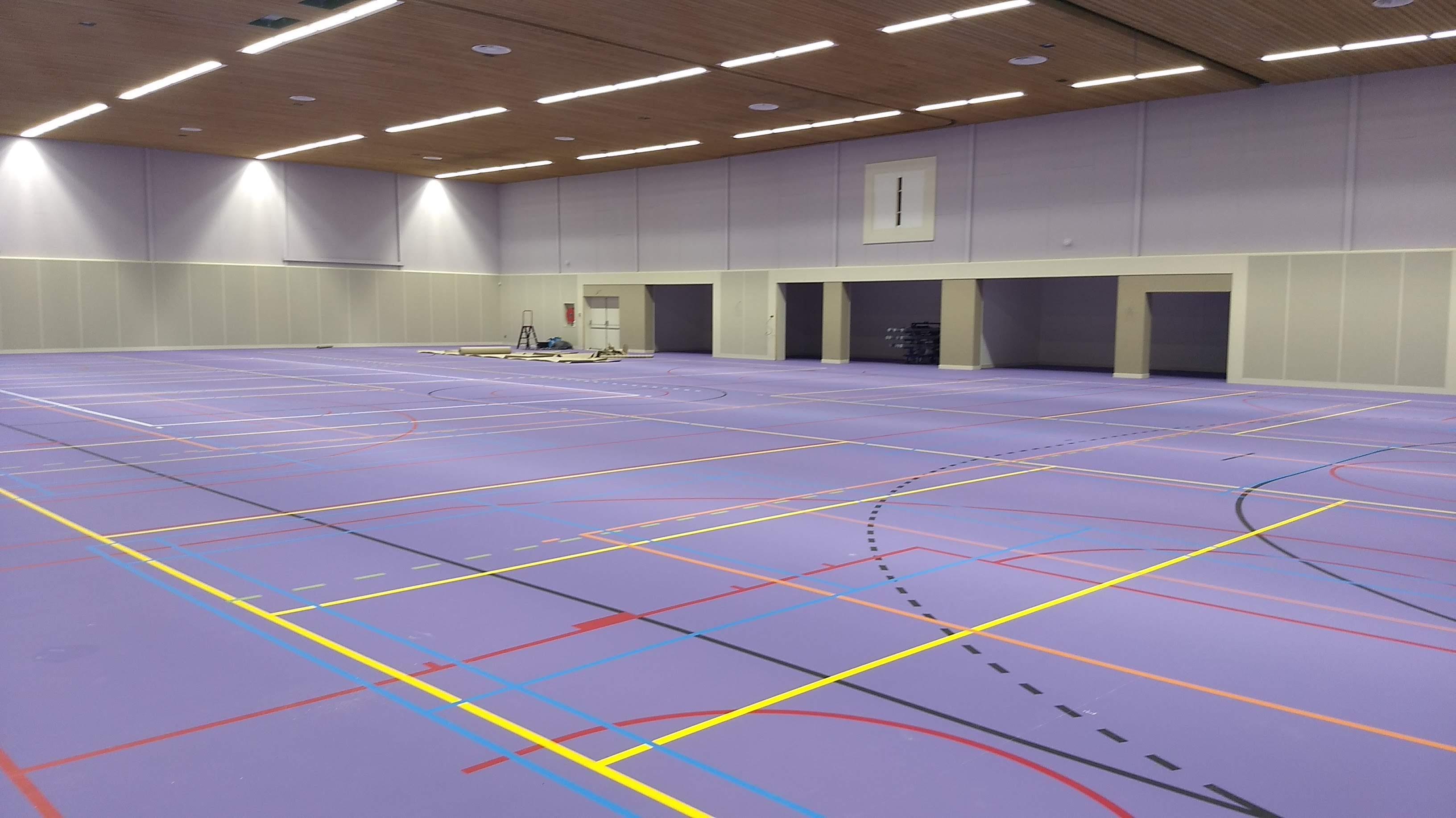 Nieuwe sporthal