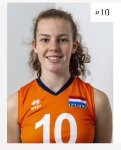 Joanne Brilhuis met Oranje naar EK