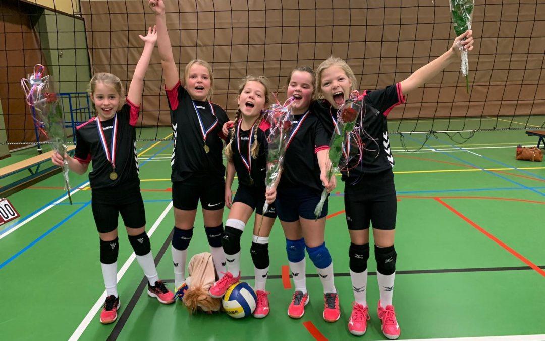 Meisjes N4 team 3 kampioen!