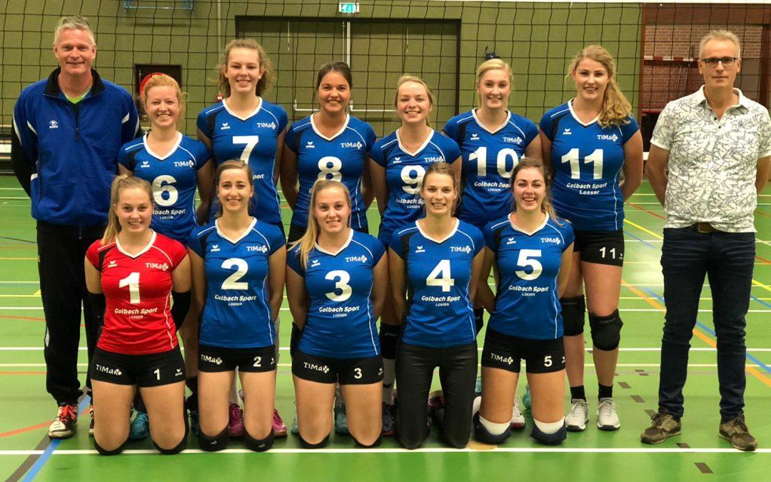 Dames 1 verliest ook in Nijmegen