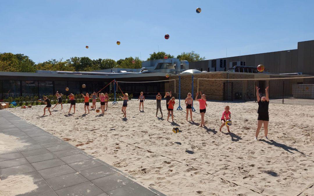 Beachvolleybal training vanaf 8 juni