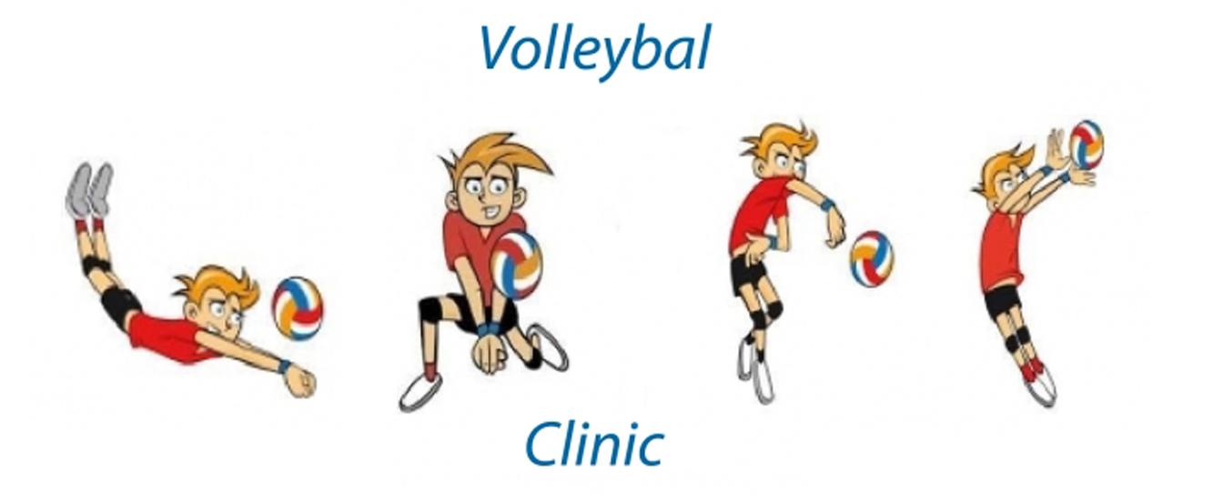 Volleybalclinic voor jongens!